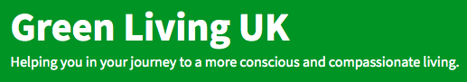 Logo of Green Living UK website.