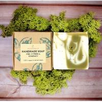 Handmade Soap with Pine, Cypress & Rosemary