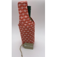 Bottle Gift Bag with Gift Tag
