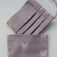Organic Cotton Face Mask with Pouch