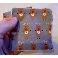 Pack of 5 Makeup Face Wipes - Grey Reindeer