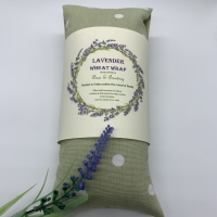 Lavender Wheat Wraps Polkadot