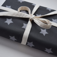 Star Fabric Gift Wrap