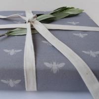 Bee Fabric Gift Wrap
