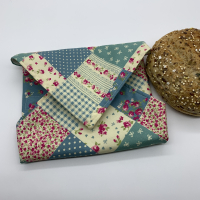 Reusable Sandwich Wrap - Patchwork