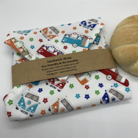 Reusable Sandwich Wrap - camper Van and Caravan