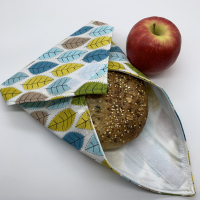 Reusable Sandwich Wrap - Leaf