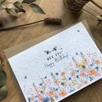 Birthday BFF - Plantable Card