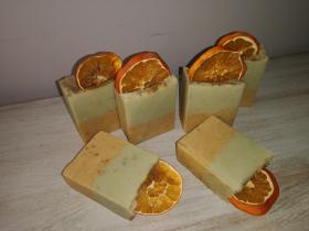 Zesty Citrus Basil Soap