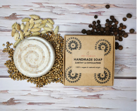Earthy & Exfoliating Soap for Gardeners' Hands