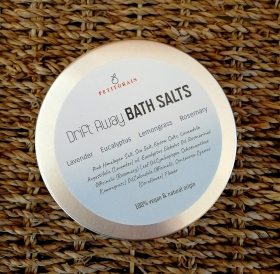 Relaxing Bath Salts with Essential Oils