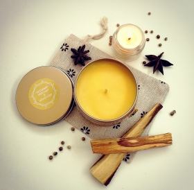 GROUNDING Aromatherapy Soy Wax Candle