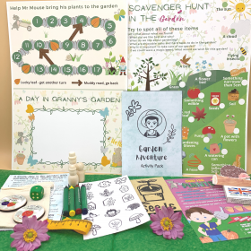 Garden Adventure Activity Pack