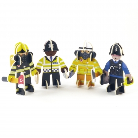 Rescue People Playset