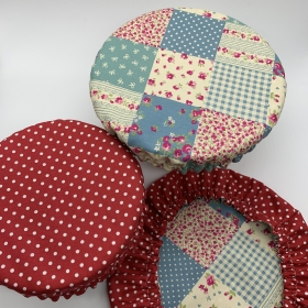Reusable Bowl Covers - Set of 3