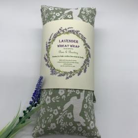 Lavender Wheat Wraps Rabbits