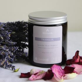 Limited Edition | Tranquil | Lavender, Rose & Bergamot Candle (180g)