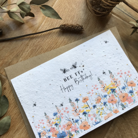 Birthday BFF - Plantable Card