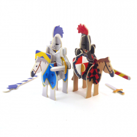 Knights Castle Build and Play Set