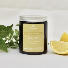 Chill Pill | Lemon, Clary Sage & Petitgrain Candle (180g)